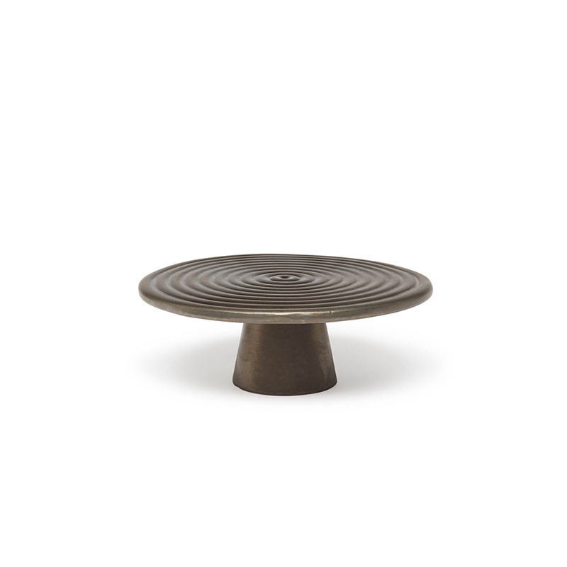 Food/Cake Stand - Platinum Matt - Sm-1