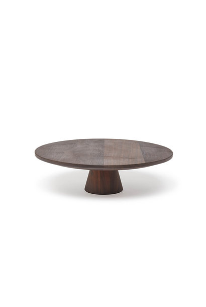 Food/Cake Stand - Walnut - Lge