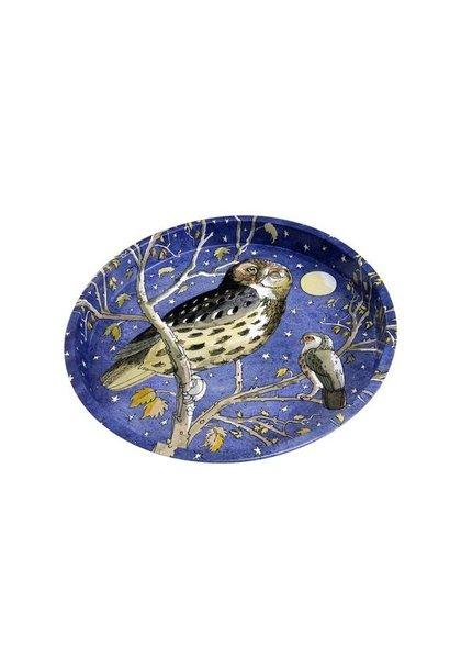 Round Tray - Owl