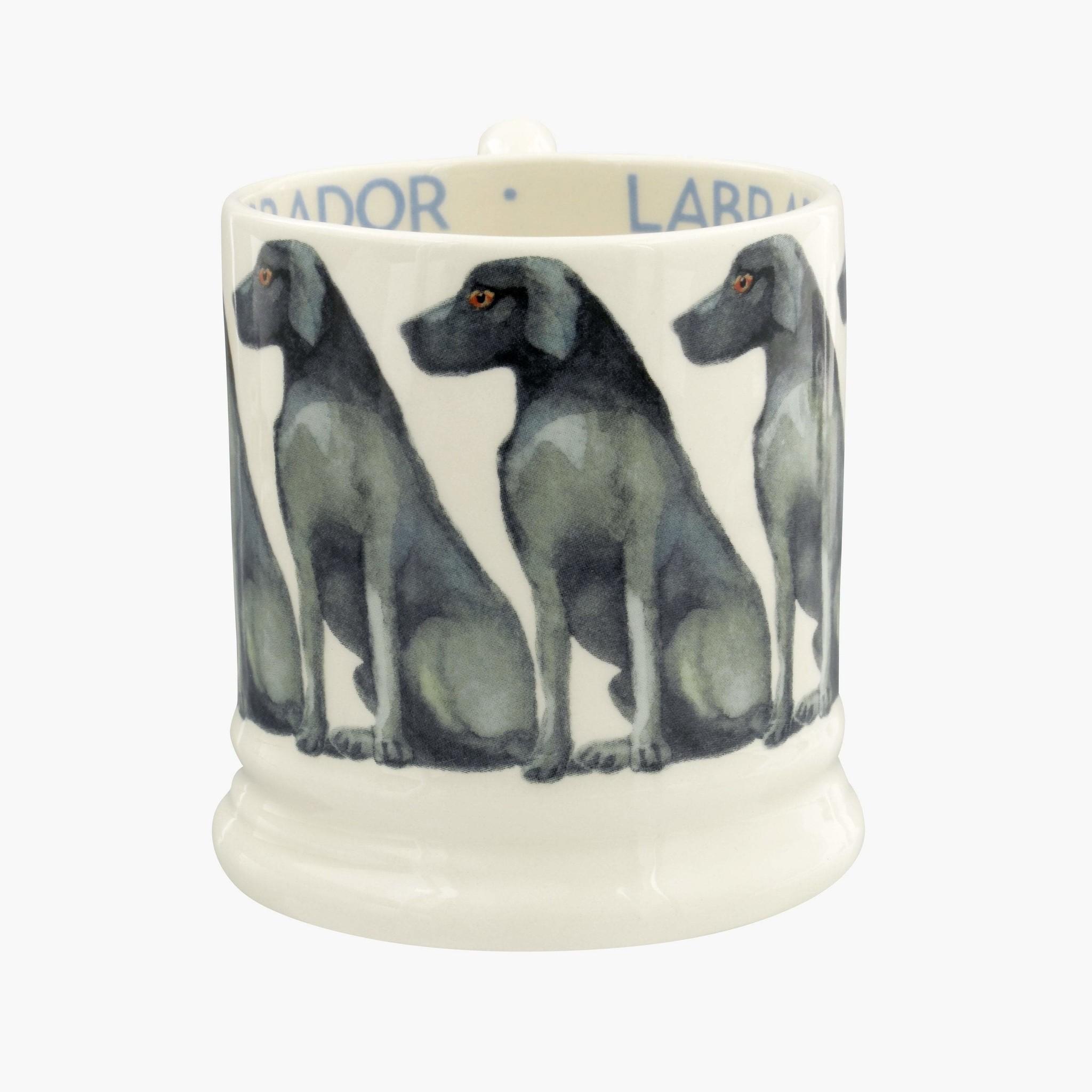 Black Lab 1/2 Pint Mug-1