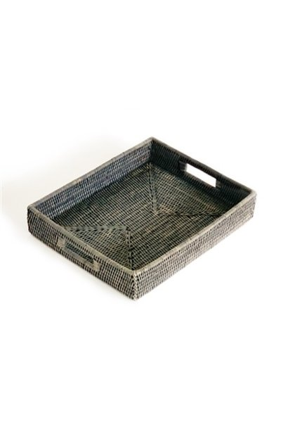 Rectangular Tray - Grey Wash
