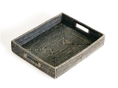 Rectangular Tray - Grey Wash-1