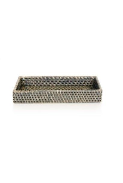 Bath Tray Rectangular - Grey Wash