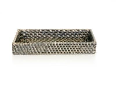 Bath Tray Rectangular - Grey Wash-1