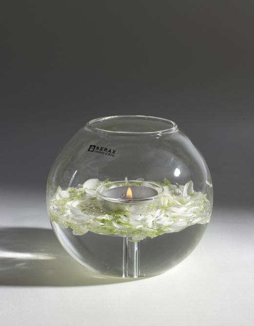Ball/Tealight  - Glass-1