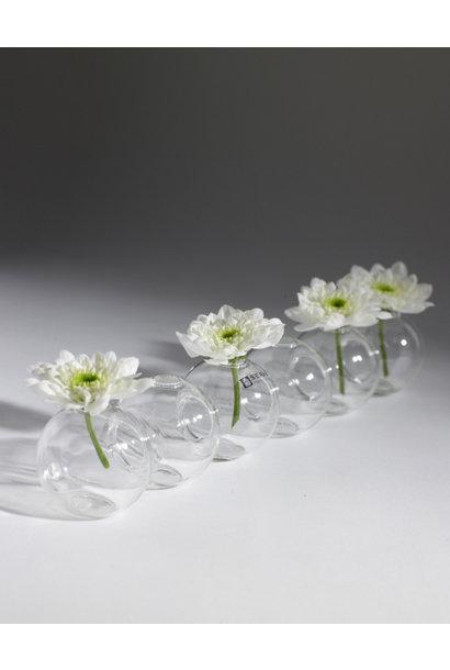 6 Ball Vase - Glass