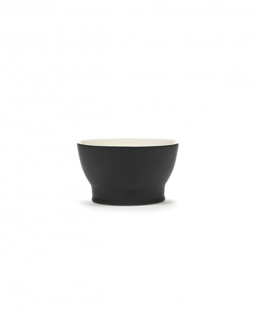 Cup/Mini Bowl w/o Handle - Blk/Wh-1