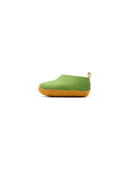Nauseni Junior Slipper - Green - Sz 25