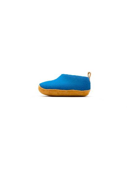 Nauseni Junior Slipper - Blue - Sz 25