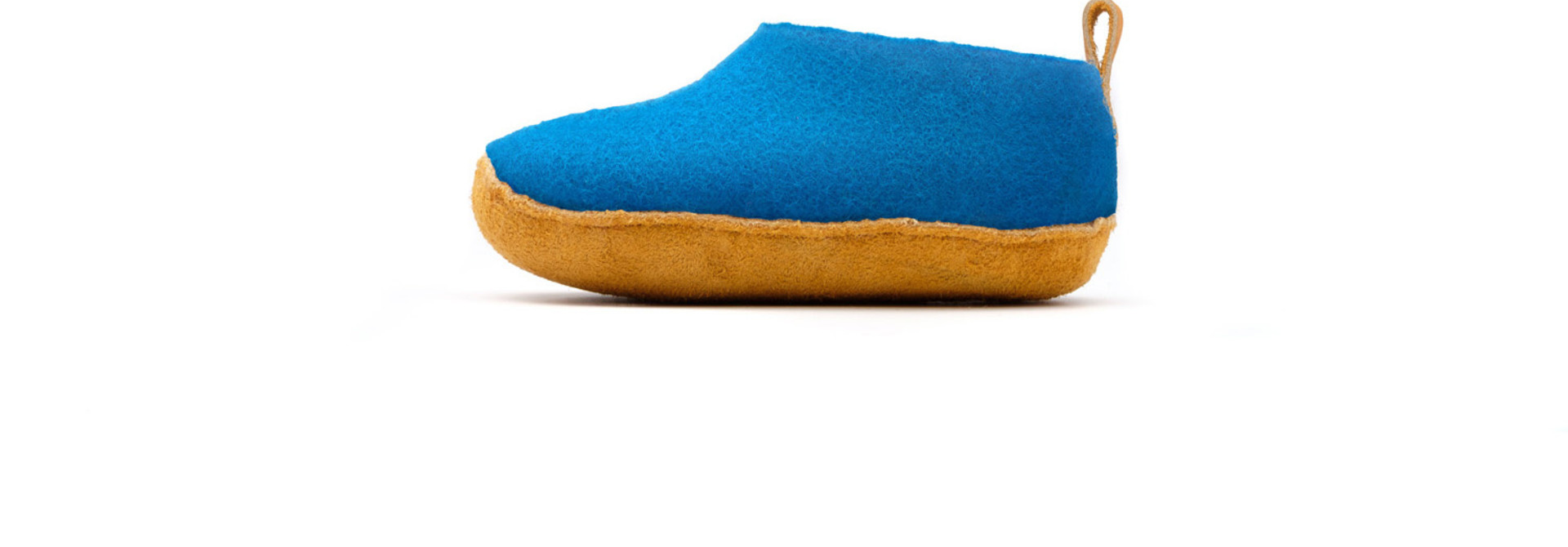 Nauseni Junior Slipper - Blue - Sz 24