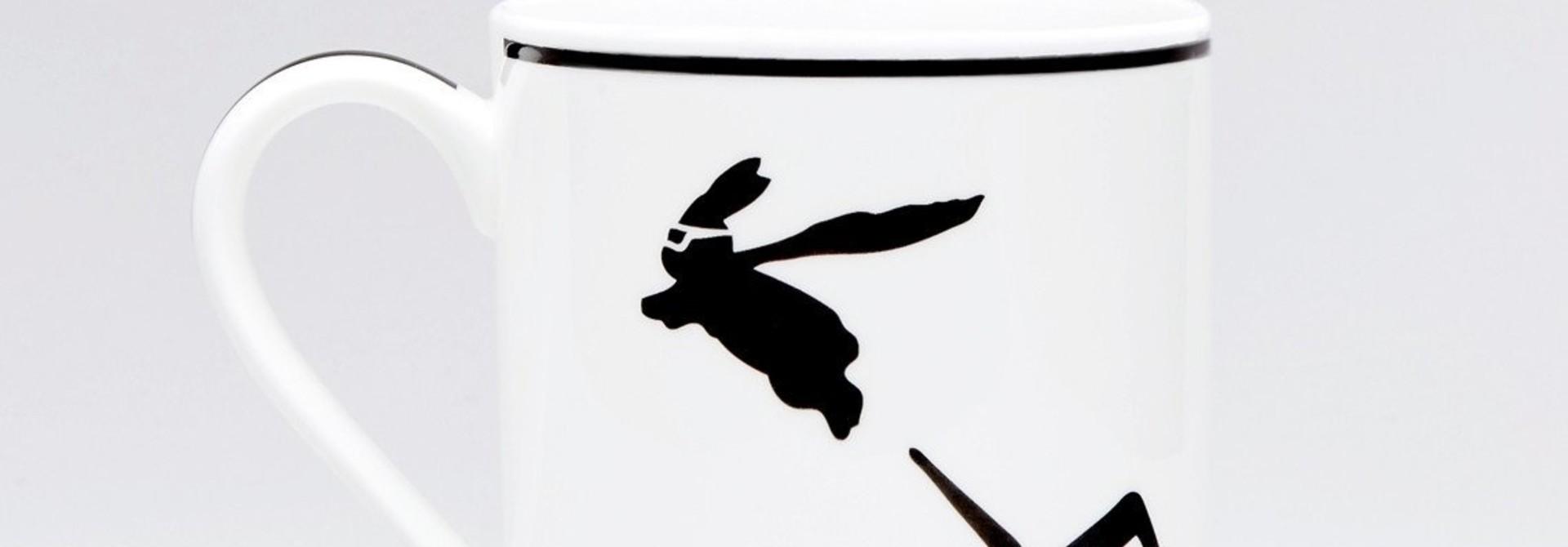 Superhero Rabbit Mug