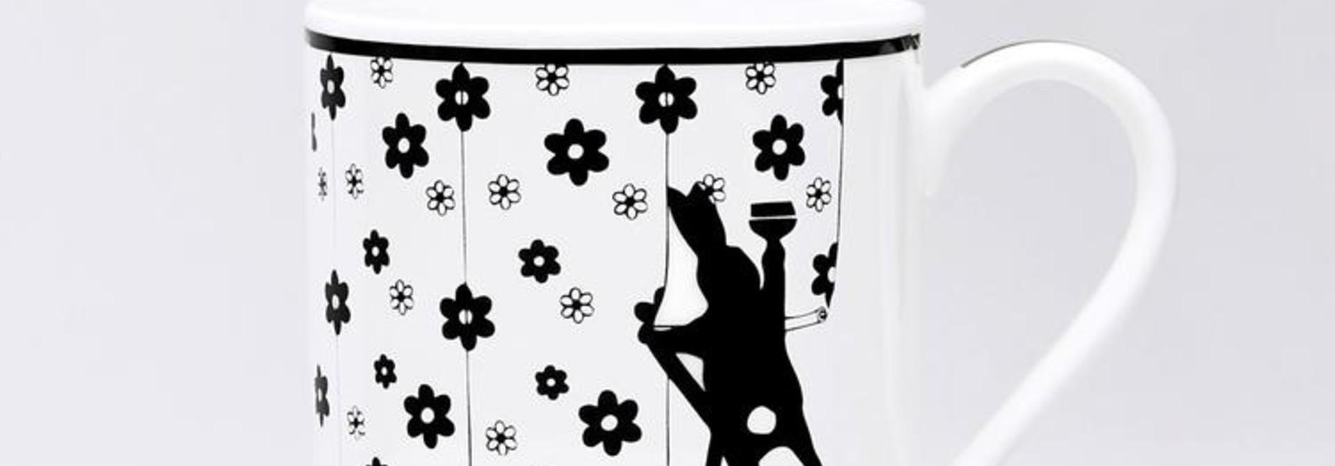 Wallpapering Rabbit Mug