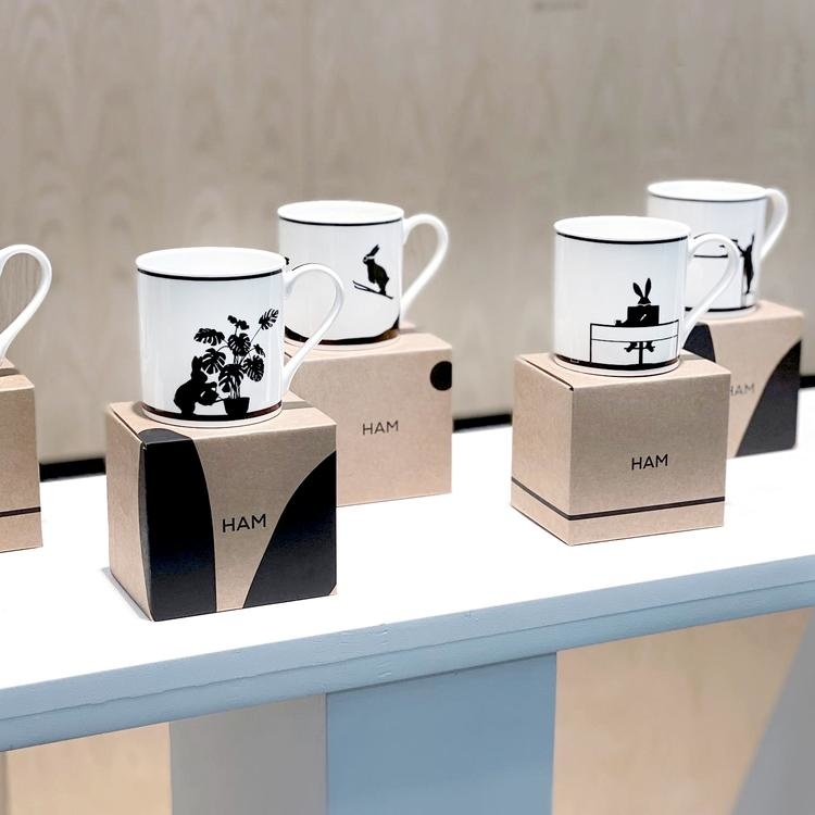 Wallpapering Rabbit Mug-3