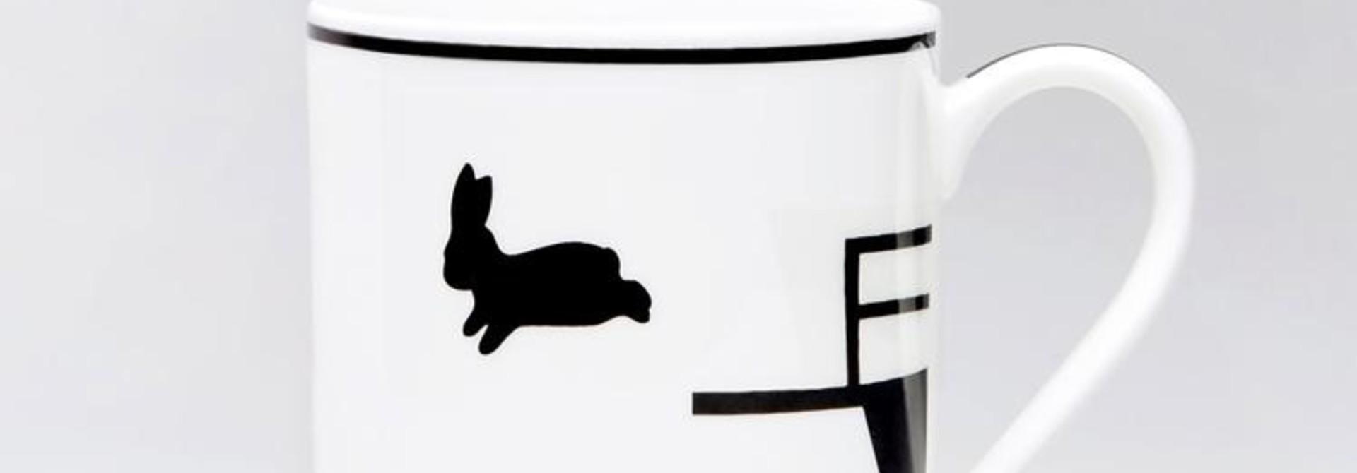 Diving Rabbit Mug