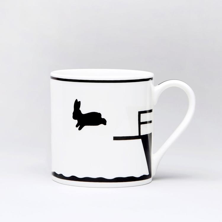 Diving Rabbit Mug-1