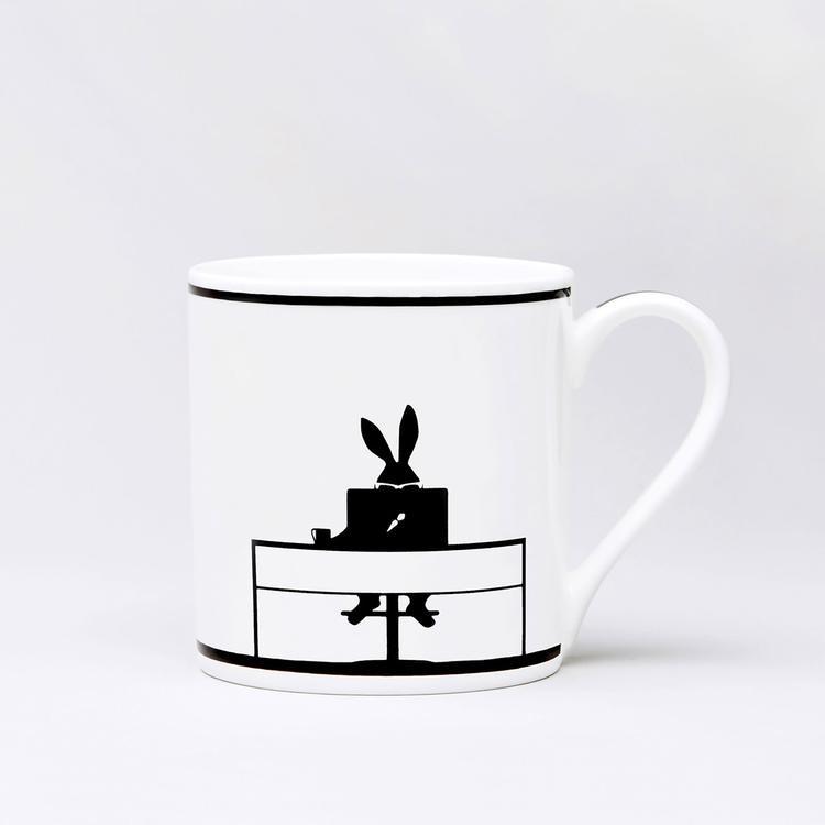 Working Rabbit Mug-1