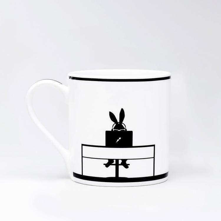 Working Rabbit Mug-2