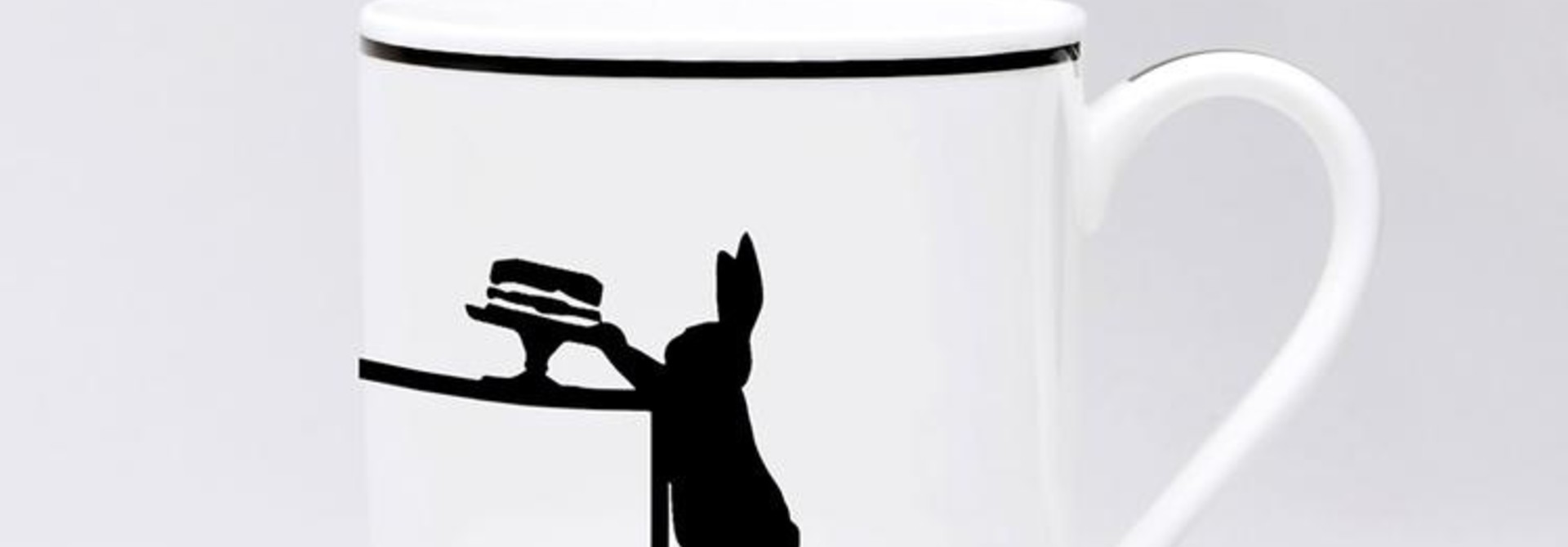 Cake Loving Rabbit Mug