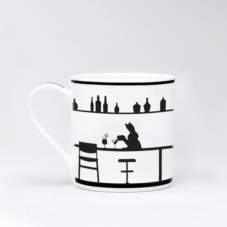 Cocktail Rabbit Mug-2