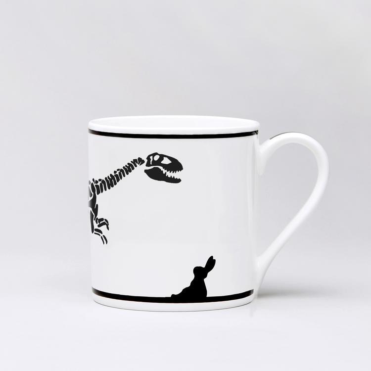 Dinosaur Rabbit Mug-1