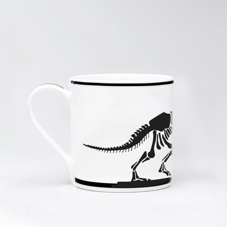 Dinosaur Rabbit Mug-2