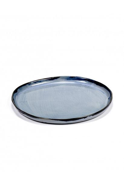Round Plate - Lt Blue