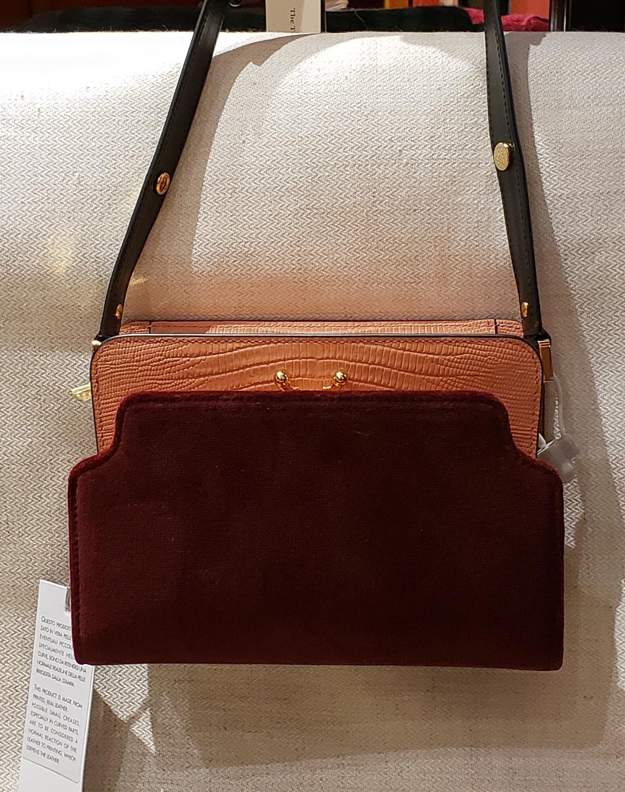 Shoulder Bag - Bordeau/Pink-1
