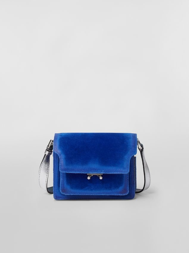 Shoulder Bag - Sublime - Blue Velvet-1