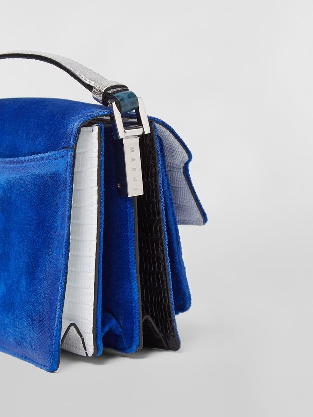Shoulder Bag - Sublime - Blue Velvet-2