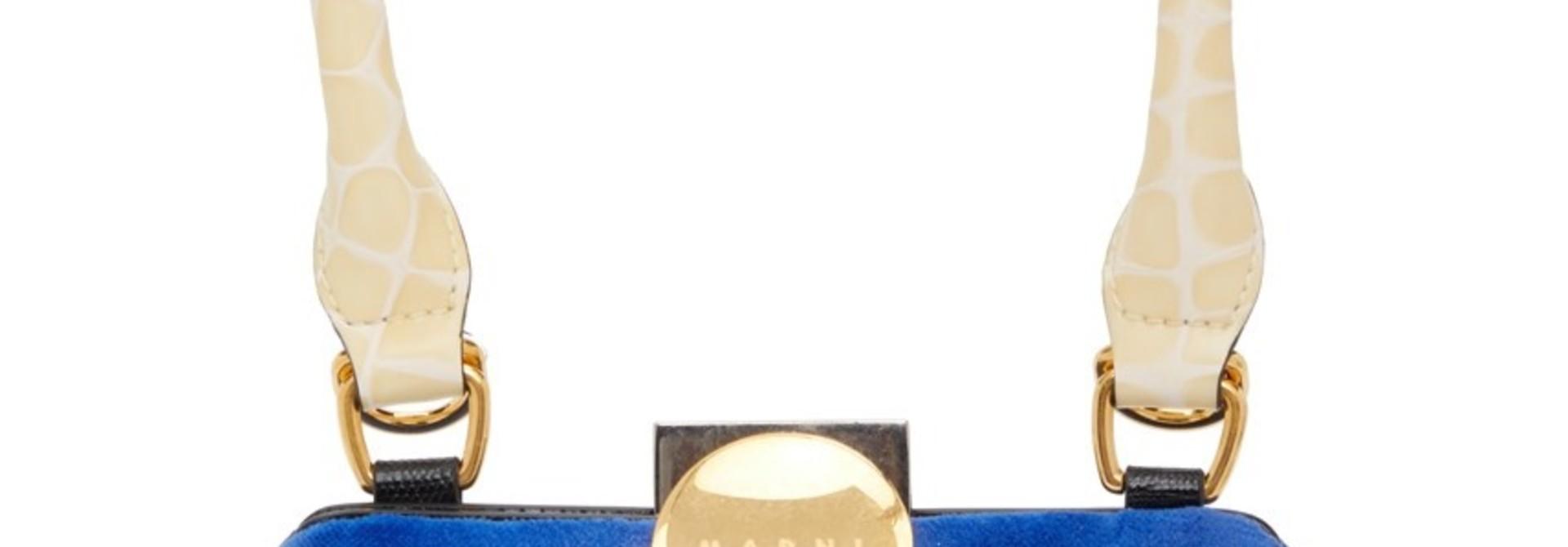 Bag - Blue Velvet Mini bag