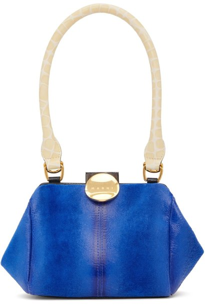 Bag - Blue Velvet Mini bag