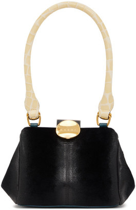 Bag - Black Suede Velvet-1