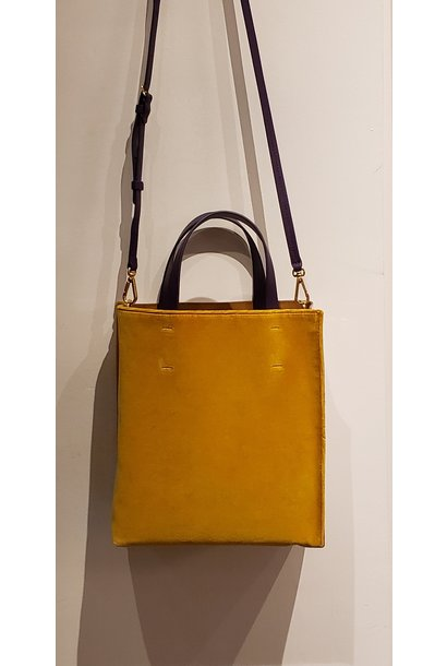 Tote Bag - Museo - Ochre/White