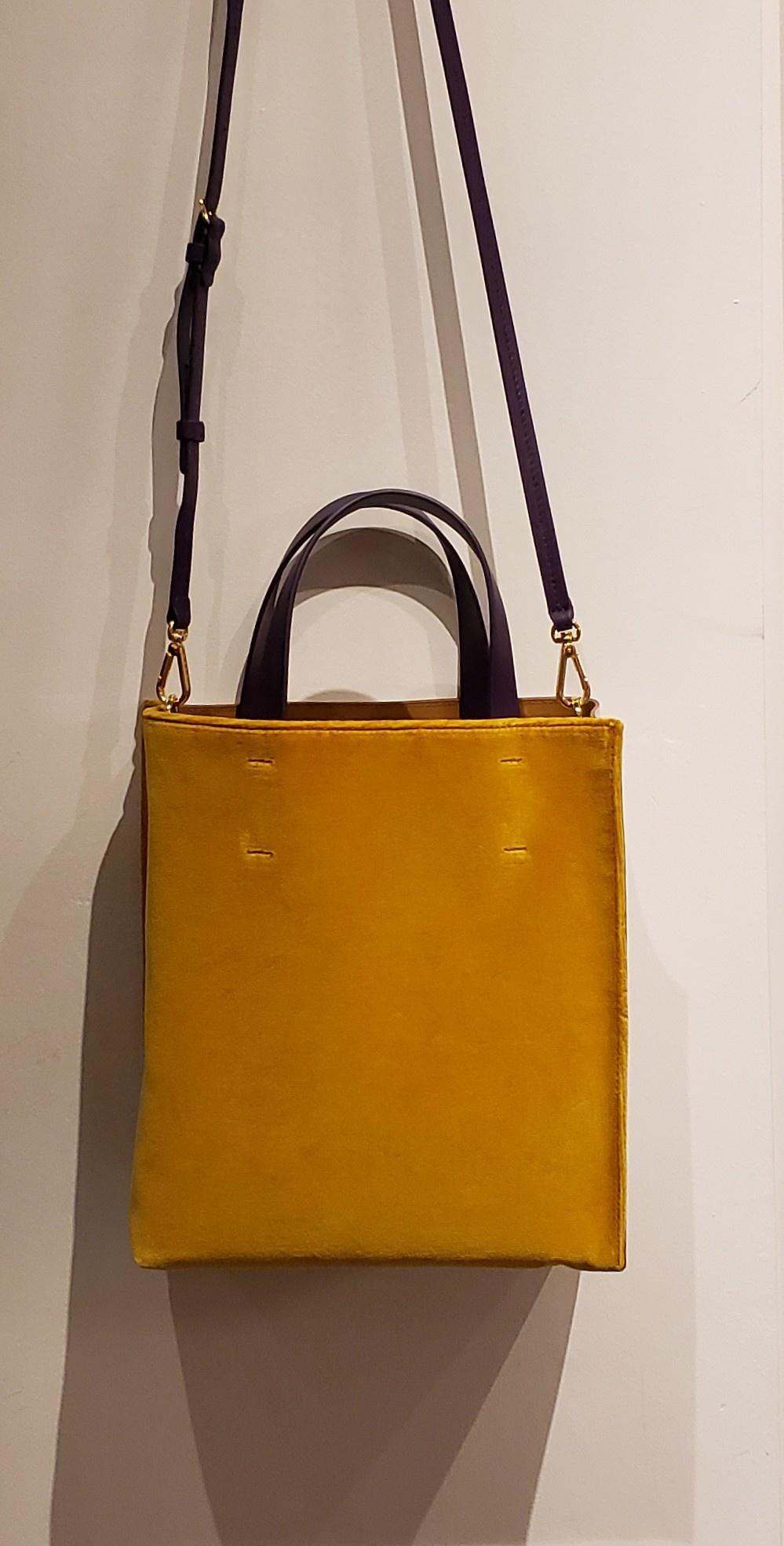 Tote Bag - Museo - Ochre/White-1