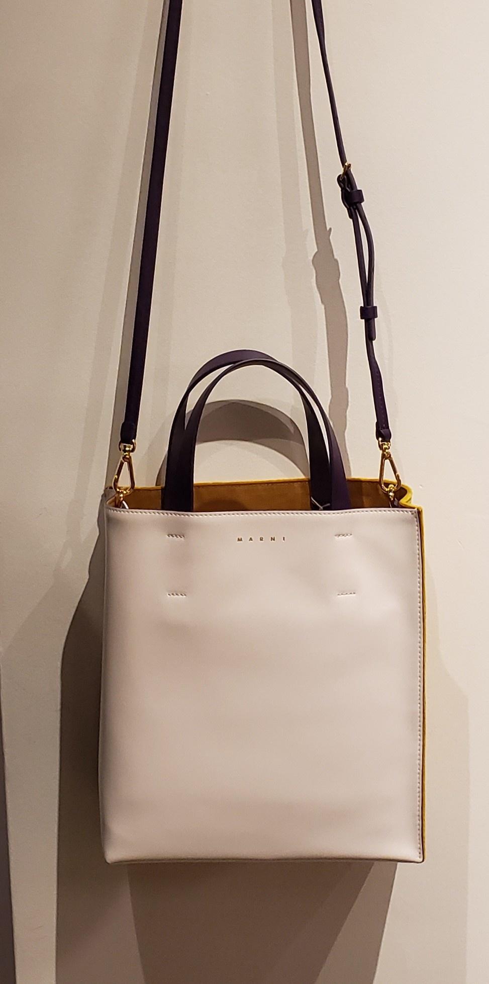 Tote Bag - Museo - Ochre/White-2