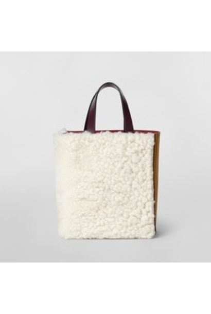 Bag - Museo - Shearling & Leather