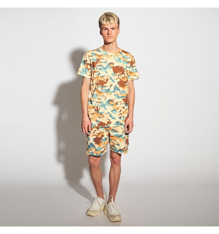 2 Pc S/S Top & Shorts - Desert - Men's - Sm-1