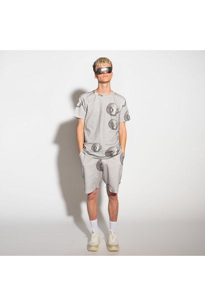 2 Pc s/s Top & Shorts - Disco - Men's - Med