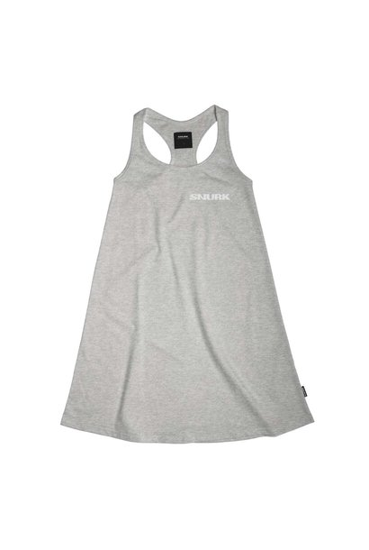 Tank Dress - Cotton - Grey - Med