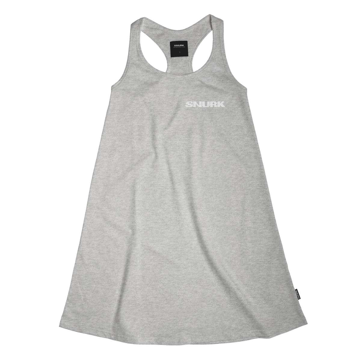 Tank Dress - Cotton - Grey - Med-1