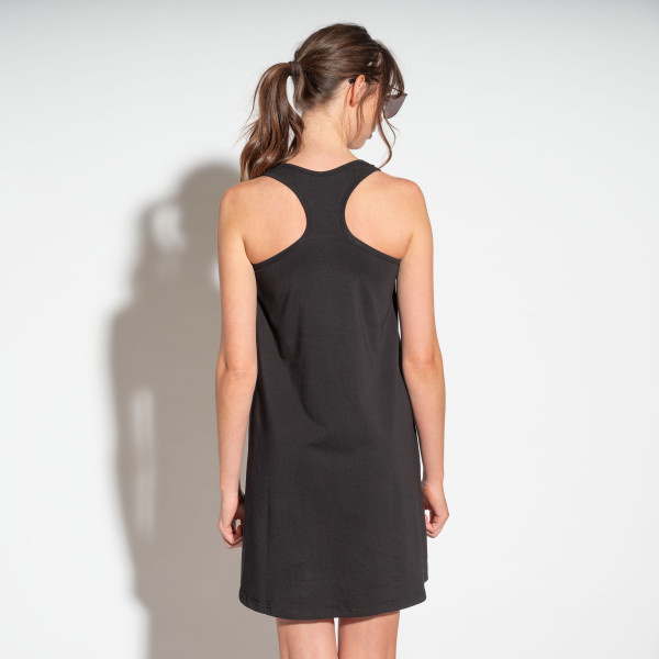 Tank Dress - Cotton - Grey - Med-2