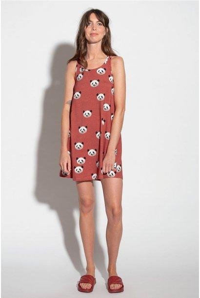Tank Dress - Cotton - Panda - Sm