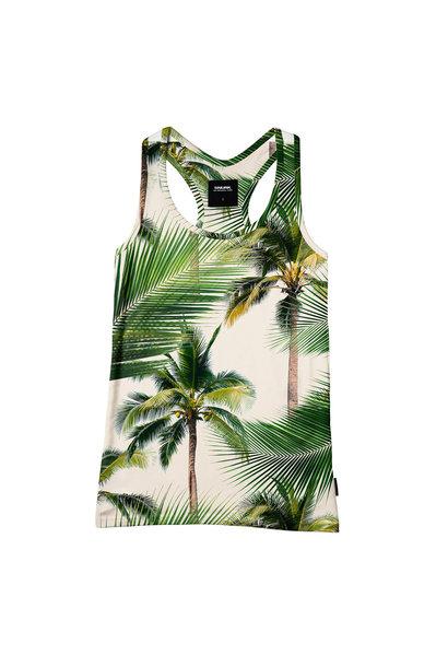 Tank - Cotton - Palm - Med
