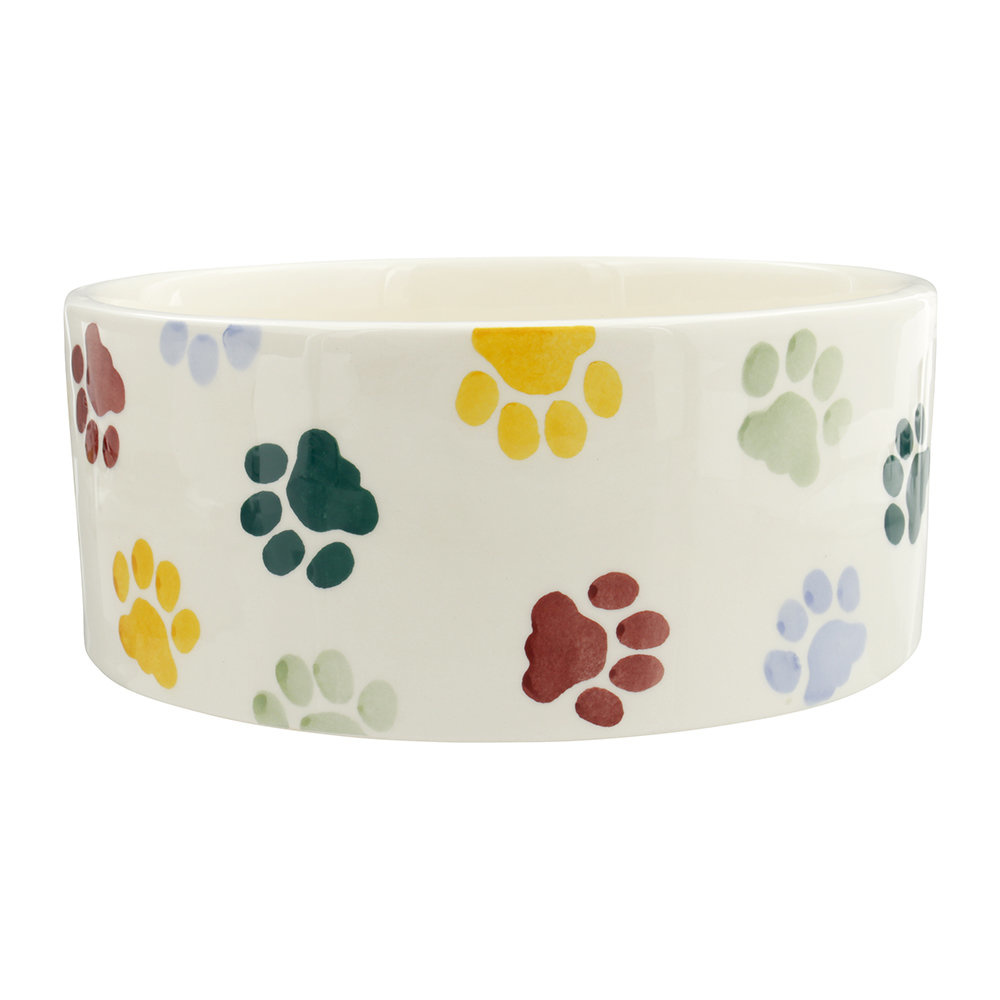Polka Paws Large Pet Bowl-1