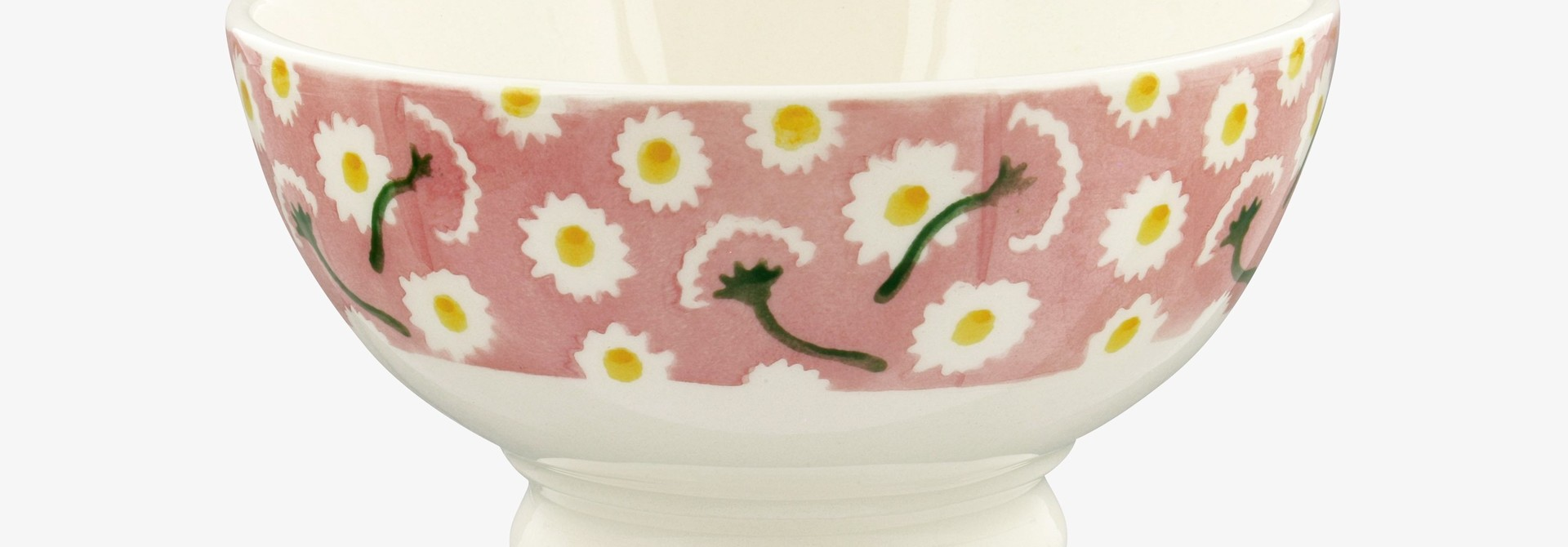 Pink Daisy -  French Bowl
