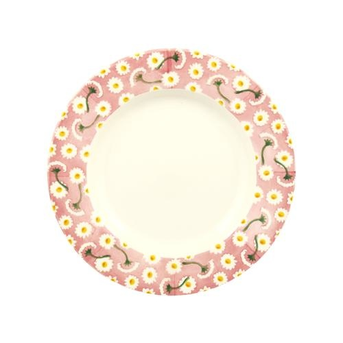 "Pink Daisy -  Plate 8.5""-1"
