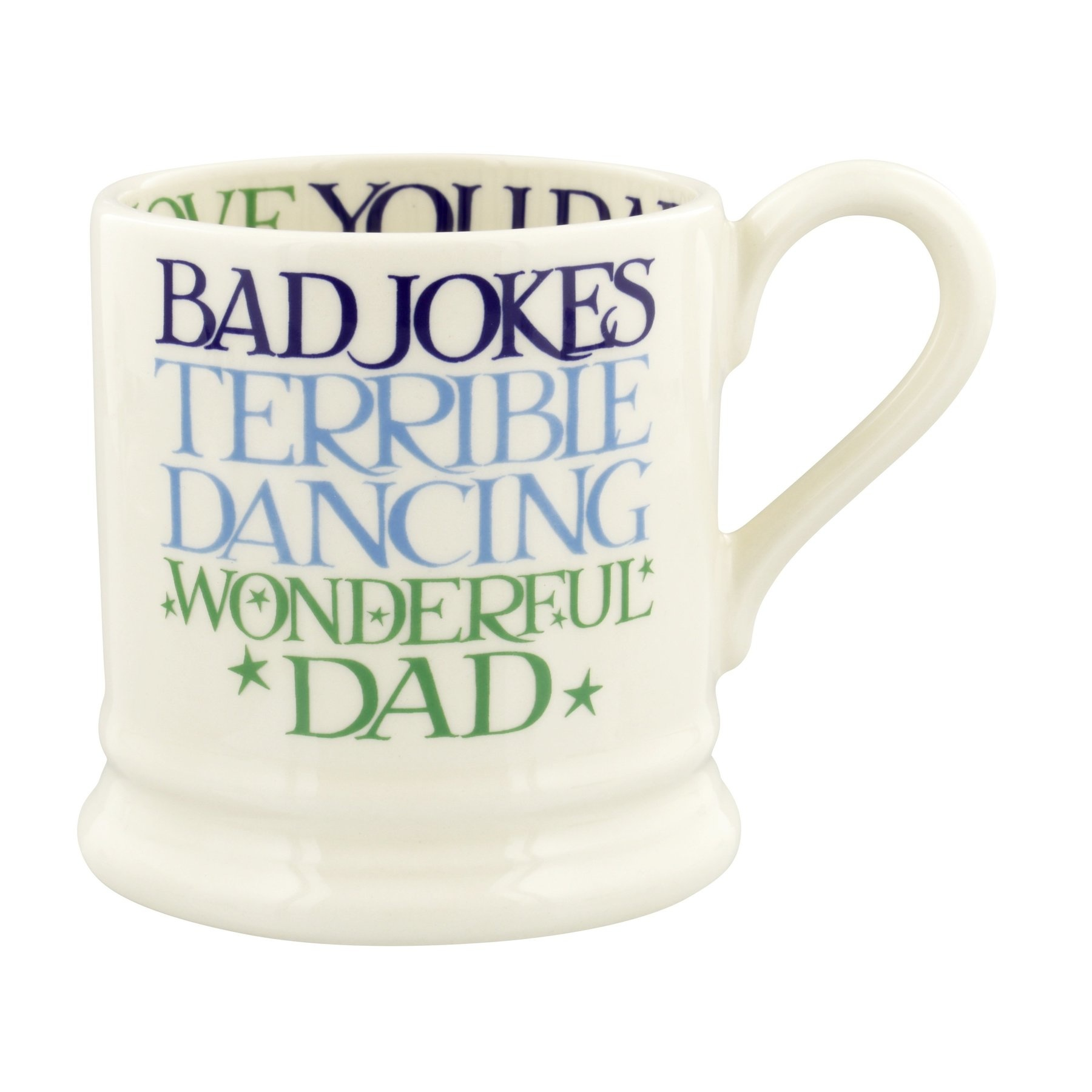 Boxed Wonderful Dad - 1/2 Pint Mug-3