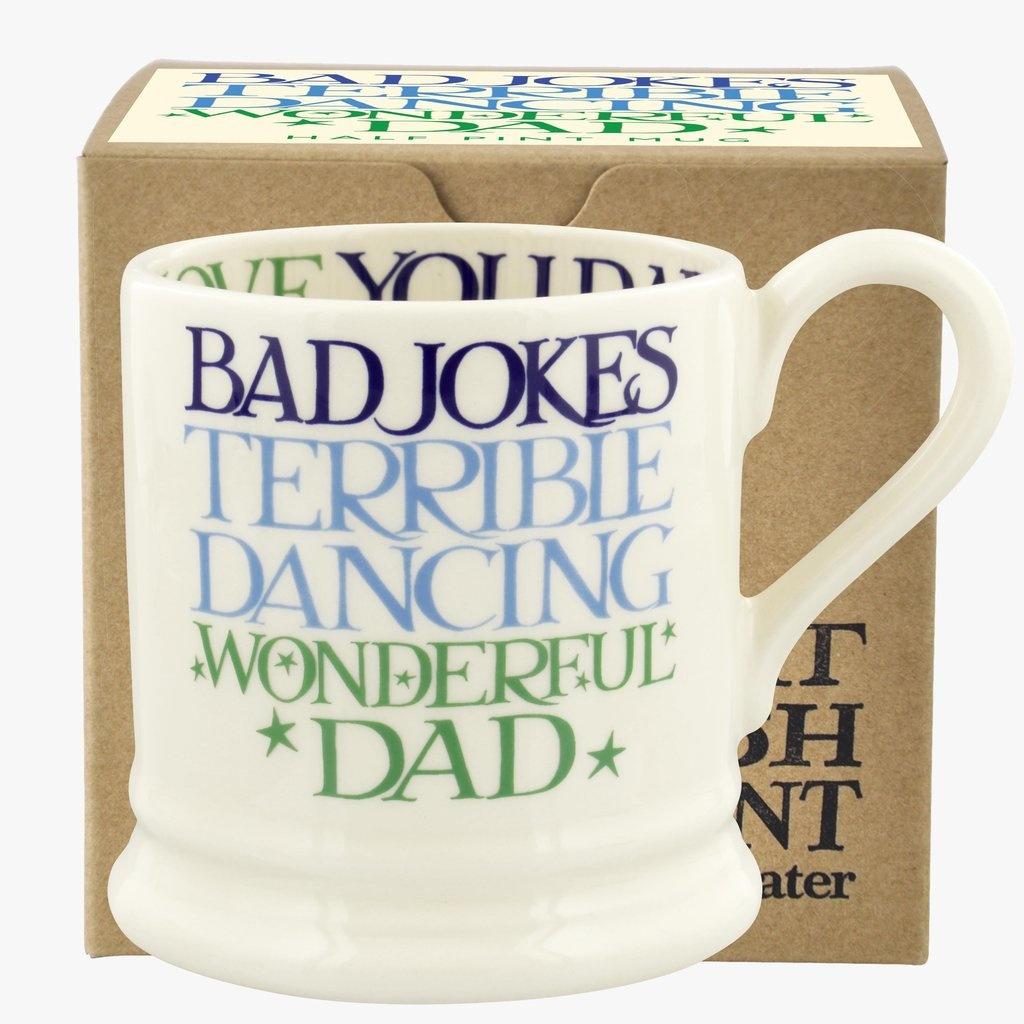 Boxed Wonderful Dad - 1/2 Pint Mug-1