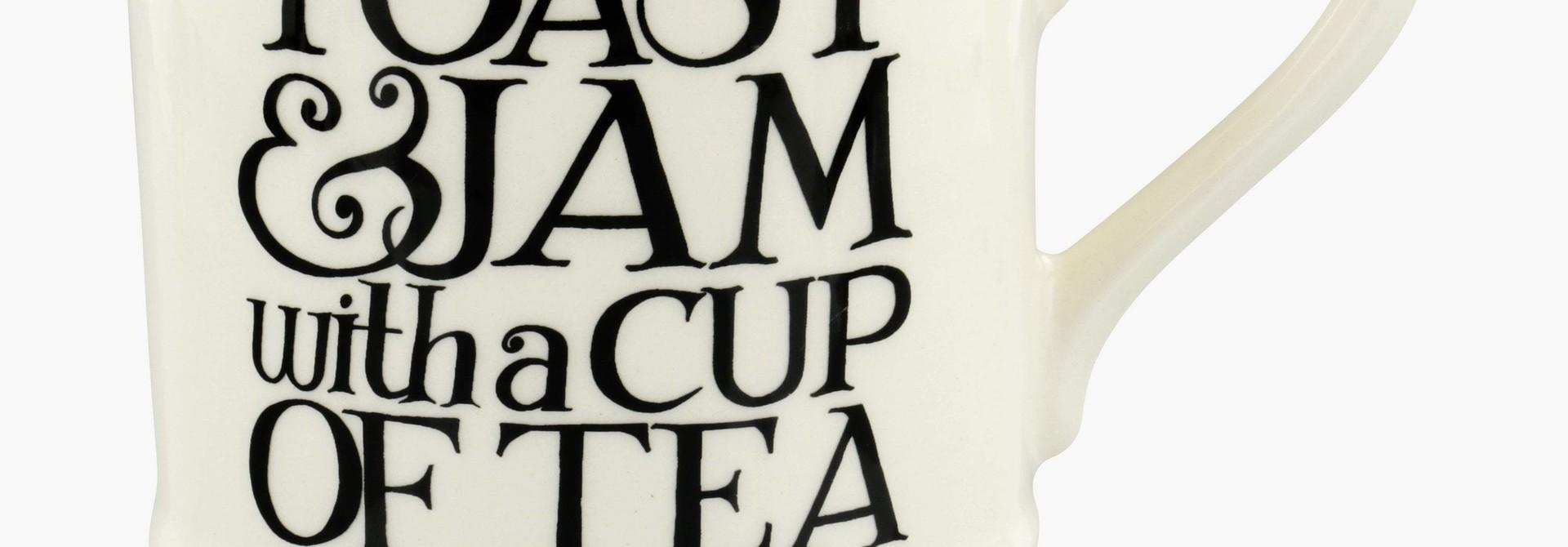 Toast & Jam w/ Tea  - 1/2 Pint Mug
