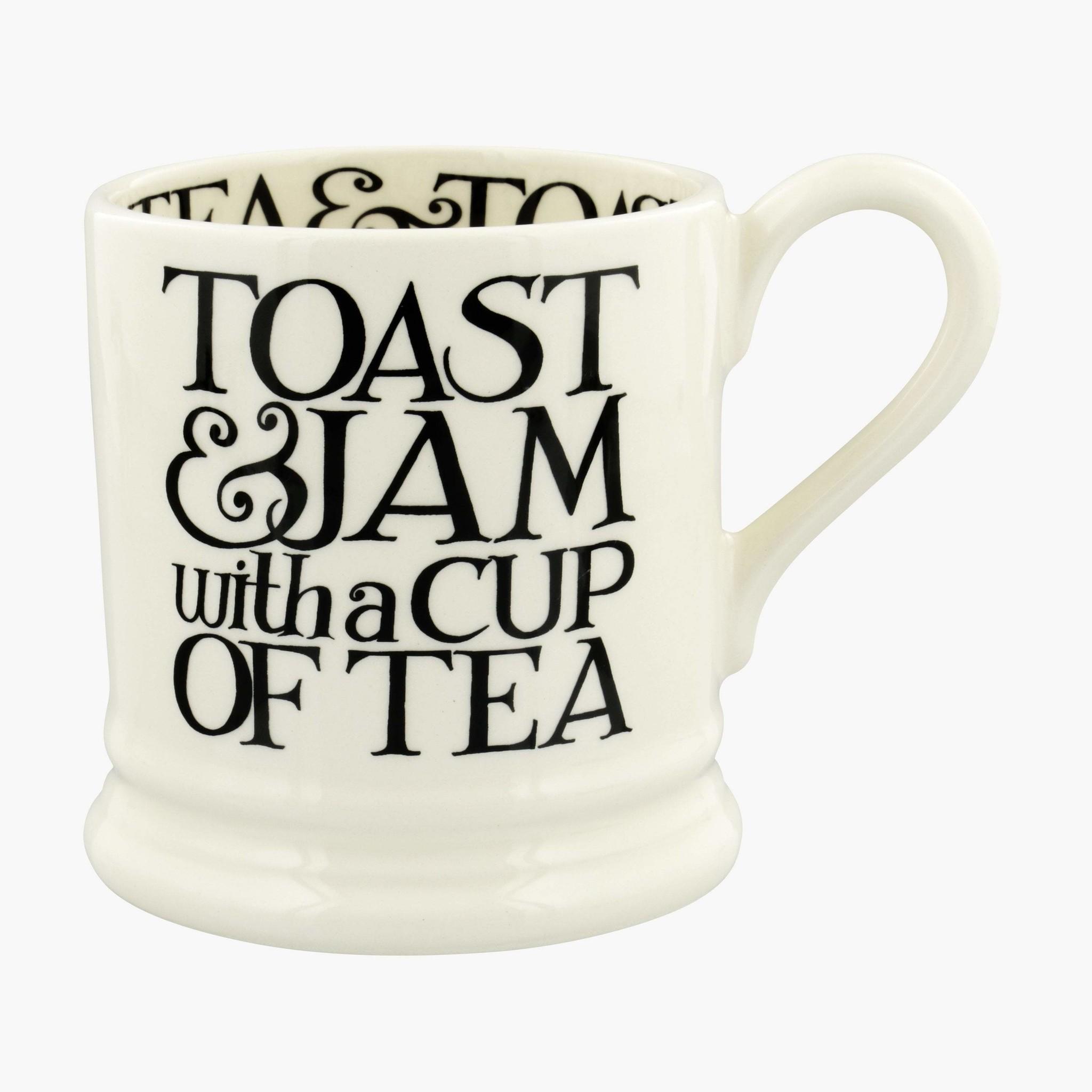 Toast & Jam w/ Tea  - 1/2 Pint Mug-1